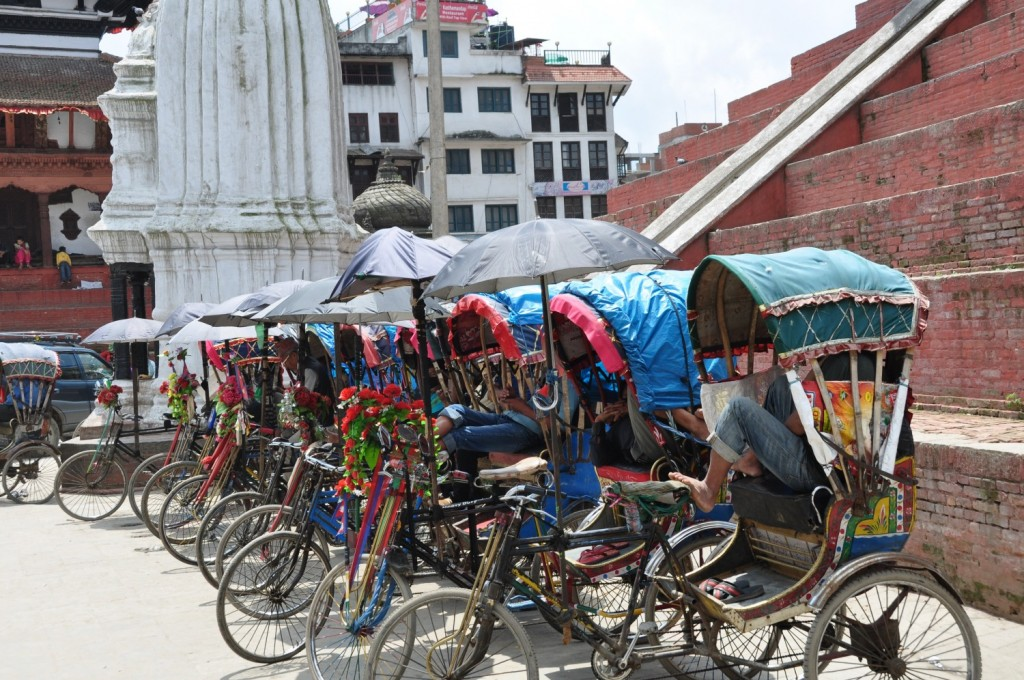 A day at Work in Katmandu