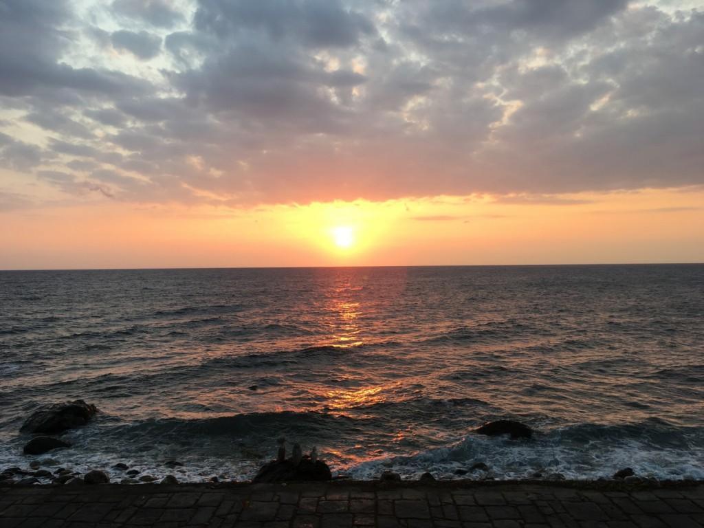 Greek Sunset in Pelion