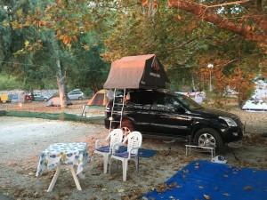 Papa Nero Camping Pelion