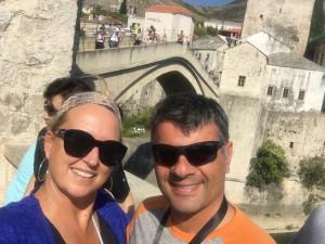 Mostar Bridge Happiness